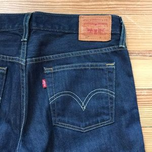 Levi's 501 high waisted buttonfly mom jeans 28 sz